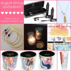 August Group Giveaway