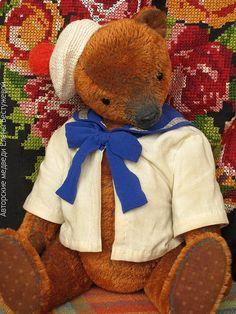 Teddy bear in sailor's suit