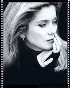Catherine Deneuve by Brigitte Lacombe                                                                                                                                                                                 Plus