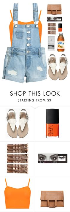 """""""Brighten Your Day"""" by abbes03 ❤ liked on Polyvore featuring NARS Cosmetics, Monki, Huda Beauty, WearAll and Maison Margiela"""