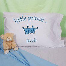 Little Prince Personalized Boy's Pillowcase