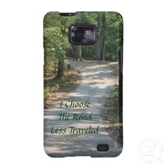 I Choose The Road Less Traveled Galaxy Cover Galaxy S2, Samsung Galaxy S9, Choose Me, Plastic Case, Cover