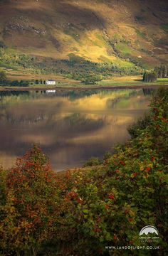 Loch Carron in the Highlands of Scotland