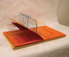 Debra Weier  Tension and Relief, 1985  Cut paper and strings