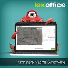 Kompliziert war gestern: lexoffice unterstützt Dich jetzt beim Buchen der Belege durch die Möglichkeit, einfach Synonyme anzugeben, um die richtige Zuordnung zu finden.http://www.lexoffice.de/blog/monstereinfache-synonyme/