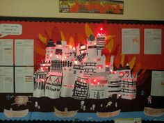 My classes Great Fire of London display :0)