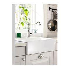 IKEA - DOMSJÖ, Évier 1 bac, Garantie 25 ans gratuite. Détails des conditions disponibles en magasin ou sur internet.