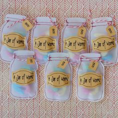 Party treats . . . cute sweet packets from vellum by Hazel from play as u go