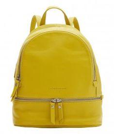 !!!Alita Backpack M Lime grüngelb Tagesrucksack Liebeskind Leder Backpacker, Leather Backpack, Fashion Backpack, Lime, Bags, Shopping, Material, Design, Products