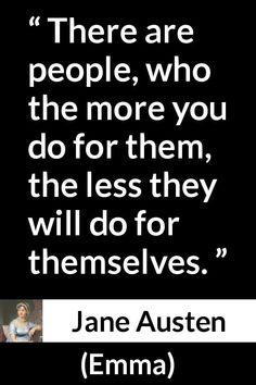 """Jane Austen about help (""""Emma"""", 1815)"""