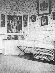 The bedroom of Tsarevich Alexey, Livadia Palace of Nicholas II.