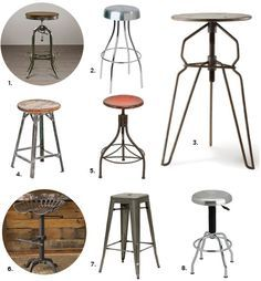 Industrial Bar Stools — Industrial Kitchen Stools — Eat Well 101
