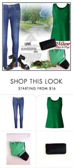 """MiowBali 19"" by aazraa ❤ liked on Polyvore featuring Levi's, Lands' End, polyvoreeditorial and polyvoreset"