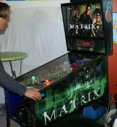 The Matrix gemaakt door de heren van www.pinnovating.com Pinball, The Matrix, Tilt, Arcade Games, Console, Pictures, Roman Consul, Consoles