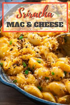 Sriracha Macaroni and Cheese