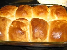 Dinner Rolls~grandmother's written recipe for Dinner Rolls and I am including my notes and hers.