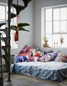 boho daybed cushions by amy sia I styling by emily henson