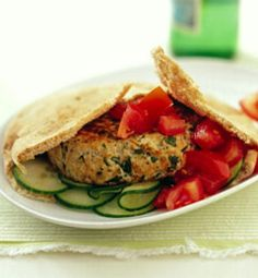 Recipes from The Nest - Turkey Burgers with Feta and Herbs
