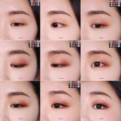 - My most beautiful makeup list Monolid Eyes, Monolid Makeup, Smokey Eye Makeup, Makeup List, Makeup Goals, Beauty Makeup, Asian Makeup Looks, Korean Eye Makeup, Makeup For Green Eyes