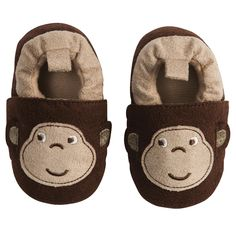 Monkey Crib Slippers for babies Baby Boy Shoes, Crib Shoes, Bebe Baby, Baby Love, Toddler Outfits, Boy Outfits, Cute Babies, Baby Kids, Baby Necessities