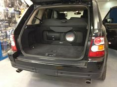"""MRX-M100 and SWR 12"""" Subwoofer in a Range Rover Sport - by Oxford Car Audio"""