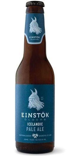 Einstok Icelandic Pale Ale: APA Style Icelandic Beer - Bierproeverijtje.nl