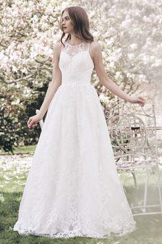 Chi Chi London exkluzivní svatební šaty Olivia, bílé