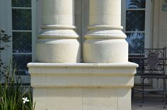 Hand carved stone by our stonemasons