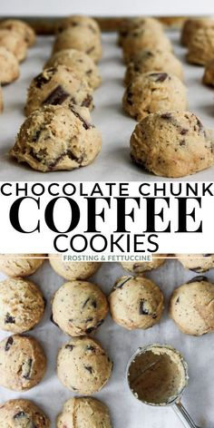 Cookie Flavors, Best Cookie Recipes, Cookie Desserts, Easy Desserts, Baking Recipes, Delicious Desserts, Snack Recipes, Yummy Food, Coffee Cookies
