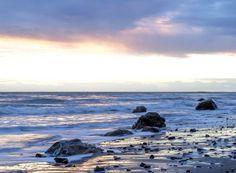 #beach #ocean #rocks #sand #waves