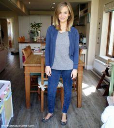 Anna Saccone: Fashion Friday: Blue & Grey!