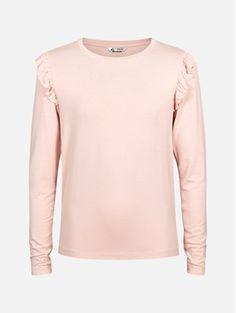 Lys rosa - Pia langermet topp Barn, Sweatshirts, Blouse, Long Sleeve, Sleeves, Sweaters, Mens Tops, T Shirt, Women
