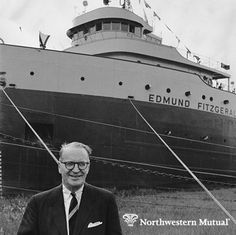 Our iconic great lakes freighter, the SS Edmund Fitzgerald, is coming back to Milwaukee in model form and will be unveiled this Saturday at the Milwaukee Public Library. The SS Edmund Fitzgerald set sail for the first time June 7, 1958 and was the largest ship on the great lakes for 17 years until it tragically sank during a trip from Superior to Detroit on Nov. 10, 1975. #TBT