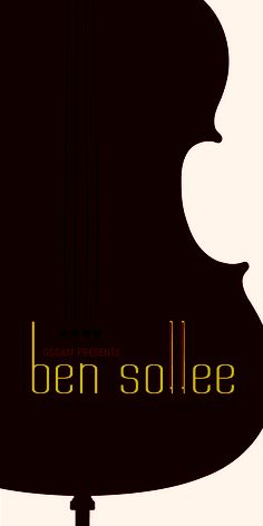 Ben Sollee designed by Lindsay Geis Poster Designs, Advertising Design, Graphic Design, Marketing, Movie Posters, Art, Art Background, Film Poster, Popcorn Posters