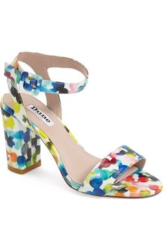 595529767fb066 Dune London  Melrose  Patent Block Heel Sandal (Women) available at   Nordstrom