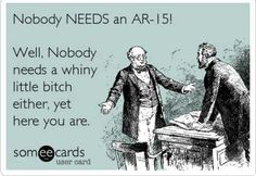 AR-15 humor. Find our speedloader now!  www.raeind.com  or  http://www.amazon.com/shops/raeind