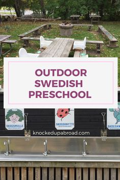 A Visit to a Swedish Outdoor Preschool - Knocked Up Abroad Knock Knock, How To Find Out, Preschool, Outdoor, Outdoors, Kindergarten, Outdoor Games, Preschools