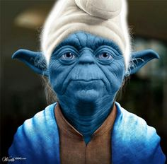 Yoda Smurf  lmao