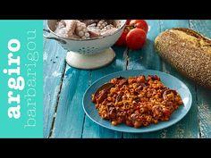 Χταπόδι με κοφτό μακαρονάκι από την Αργυρώ Μπαρμπαρίγου | Κλασικό και αγαπημένο νηστίσιμο ελληνικό πιάτο που μυρίζει θάλασσα. Φτιάξτε το όλοι! Weekly Menu, Greek Recipes, Fish And Seafood, Macaroni And Cheese, Chili, Soup, Favorite Recipes, Cooking, Breakfast