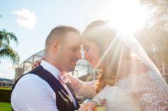 Sun beam was just perfect! Wedding Portraits, Wedding Photography, Backyard, Sun, Wedding Dresses, Wedding Shot, Yard, Bridal Dresses, Alon Livne Wedding Dresses