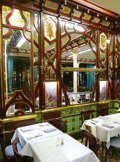 Art Nouveau - Paris - Boulevard Saint Germain - Restaurant 'Le Vagenende'