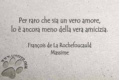 Per raro che sia un vero amore, lo è ancora meno della vera amicizia. François de La Rochefoucauld – Massime  #FrançoisdeLaRochefoucauld, #Massime, #amicizia, #amore, #aforismi, #liosite, #citazioniItaliane, #frasibelle, #ItalianQuotes, #Sensodellavita, #perledisaggezza, #perledacondividere, #GraphTag, #ImmaginiParlanti, #citazionifotografiche,