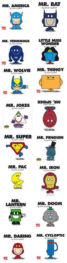 Mr et Mme #Avengers