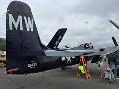 """Grumman F7F-3 Tigercat """"Bad Kitty."""""""