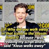 This made me laugh waayyy too hard -The Originals' Fun & Fan Gallery! pagina 12 TO Forum The Originals ITASA - La community italiana dei sottotitoli The Vampire Diaries, Vampire Diaries Wallpaper, Vampire Diaries The Originals, Klaus The Originals, Originals Cast, Tvd Quotes, Funny Quotes, The Mikaelsons, Vampier Diaries