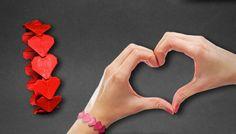 Origami: Heart Bracelet  ( Henry Pham ) - Instructions in English ( BR )