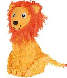 Lion King Birthday Party ideas - What a cute pinata!