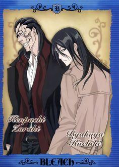Kenpachi and Byakuya, favorite 2 guys in Bleach