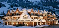 Aspen...this is the hotel where we stayed on our Honeymoon & it WAS a dream vacation :)