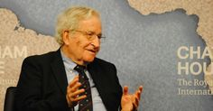 """World-renowned linguist and scholar Noam Chomsky has criticized what he sees as Western hypocrisy following the recent terror attacks in Paris and the idea that there are two kinds of terrorism: """"theirs versus ours."""""""